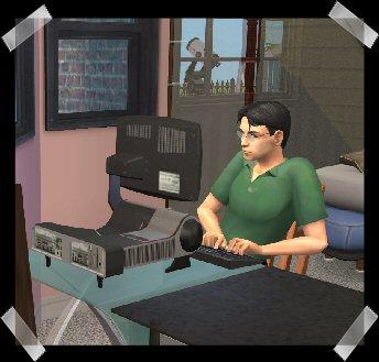 Qudit in The Sims 2