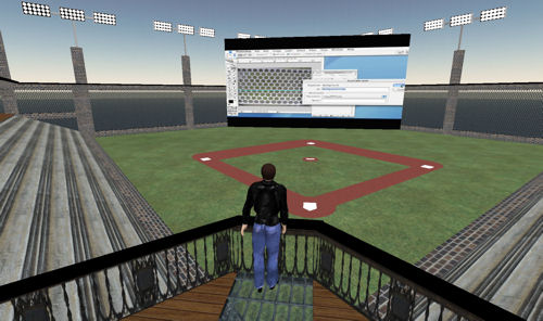 Ballpark Balcony
