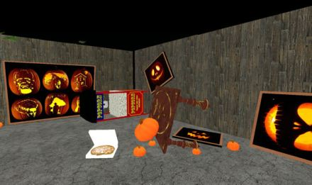 Trashed Pumpkin Room